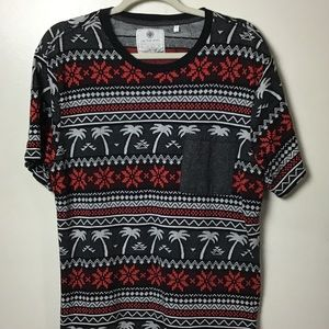 On the Byas pattern s/s tee. Large